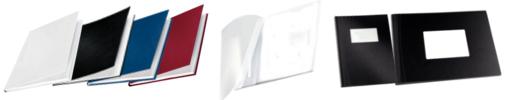 Coloris et matières disponibles en reliure Channel
