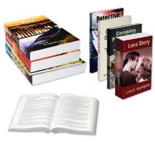Exemple de livres thermoreliés