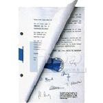 Signatures d'actes, de contrats