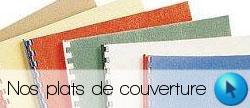 Plats de couverture pour reliure