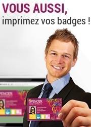 Vous aussi, personnalisez vos cartes et badges !