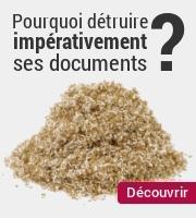 Pourquoi détruire impérativement vos documents ?
