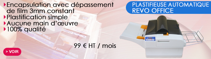 plastifieuse automatique revo office