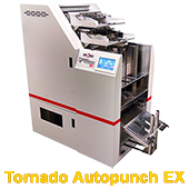 Perforeuse industrielle Tornado Autopunch Ex