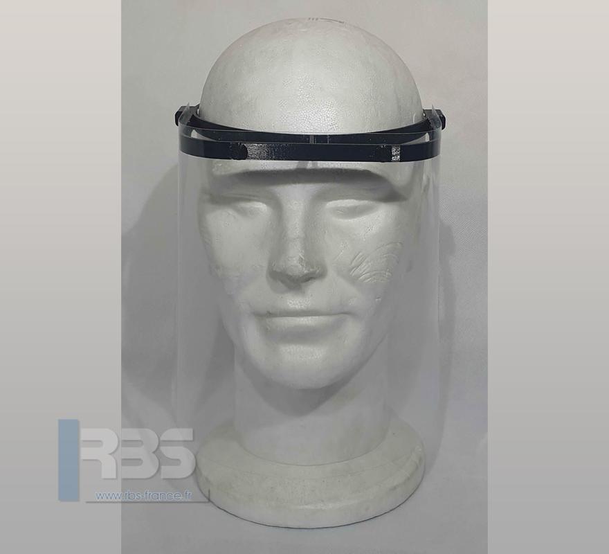 Visière de protection impression 3D en plastique alimentaire anti-allergènes et irritations