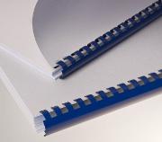 Exemple de reliure avec anneaux plastiques