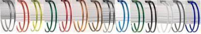 Gamme de coloris en anneaux métalliques en vente sur RBS France