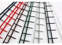 Coloris disponibles pour la reliure par peignes 10 picots