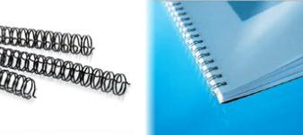 Exemple de reliure Wire'O