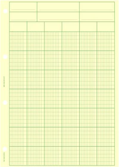 Bloc 29.7 x 40 vertical 6 colonnes  - Coloris : Chamois