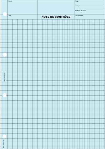 Quadrillé 5x5 Impression Gris - Coloris : Bleu