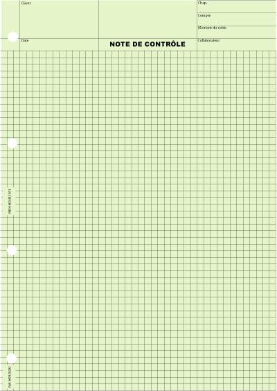 Quadrillé 5x5 Impression Gris - Coloris : Vert