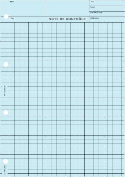 6 Colonnes 4 Carrés Impression Gris - Coloris : Bleu