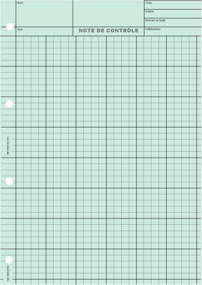 6 Colonnes 4 Carrés Impression Gris - Coloris : Vert