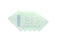 Exemple d'utilisation de nos feuilles pvc transparentes de reliure dans la fabrication de visière de protection
