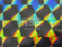 Film hologramme mosaïque