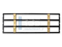 GP TXT cadre pour caractères 9 mm sur 3 lignes - GP5 & GP Presse