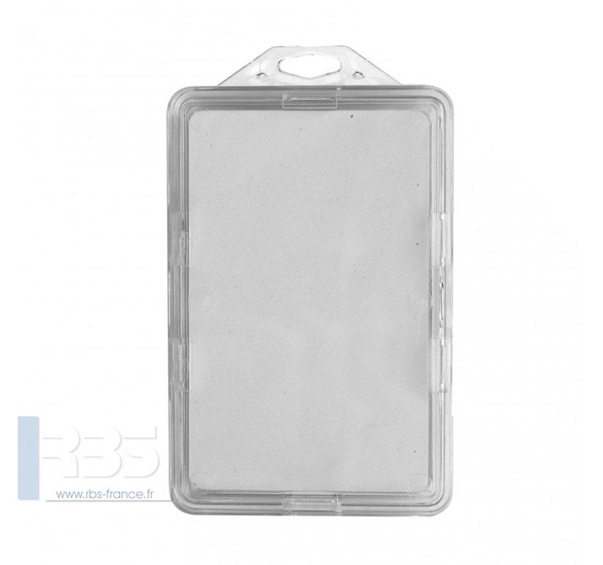 IDS 90 Porte-badges sécuritaire - Modèle Horizontal