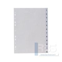 Intercalaires maxi polypro num. 12 touches