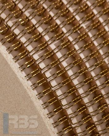 Bobines Anneaux Métalliques - Coloris : Bronze