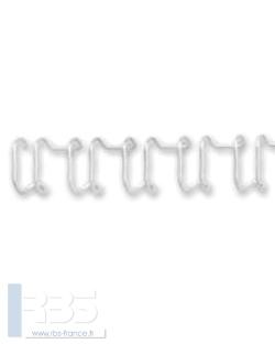 Anneaux Ibiwire 21 boucles pas 14.28 - Coloris : Blanc