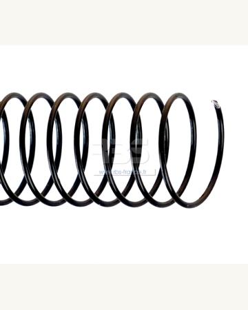 Spirale coil métallique pas 6mm format A4 STANDARD - Coloris : Noir