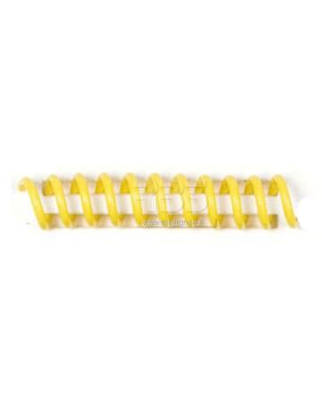 Spirale coil plastique pas 4:1 format A3 CREATIVE - Coloris : Jaune