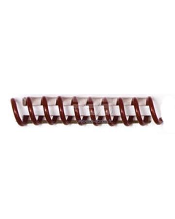 Spirale coil plastique pas 4:1 format A3 CREATIVE - Coloris : Bordeaux