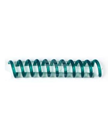 Spirale coil plastique pas 4:1 format A4 CREATIVE - Coloris : Vert Translucide