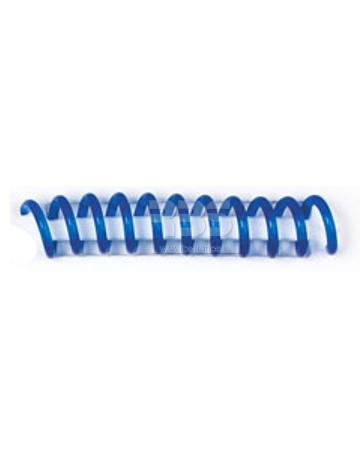Spirale coil plastique pas 4:1 format A4 CREATIVE - Coloris : Bleu Translucide