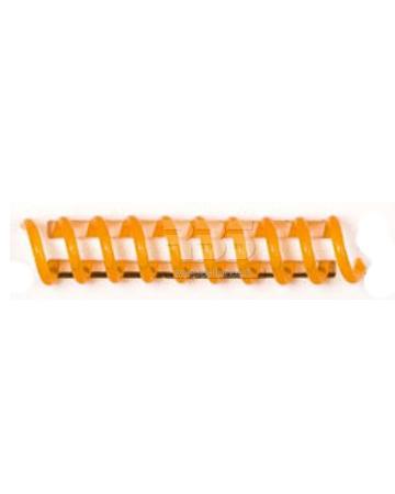 Spirale coil plastique pas 4:1 format A4 CREATIVE - Coloris : Ambre