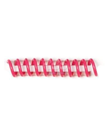 Spirale coil plastique pas 4:1 format A4 CREATIVE - Coloris : Fushia