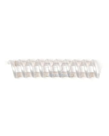 Spirale coil plastique pas 4:1 format A3 CREATIVE - Coloris : Blanc Nacré