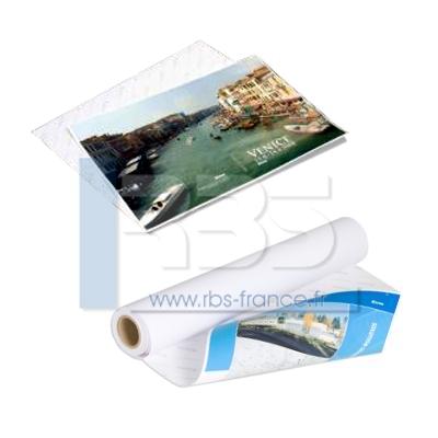 Papier adhésif imprimable - Coloris : standard