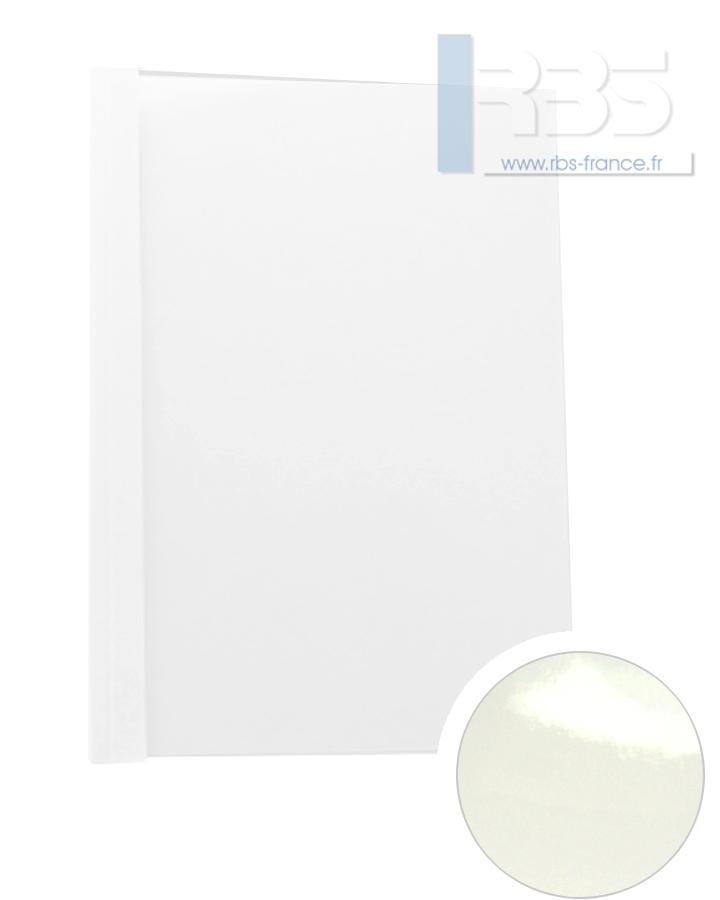 Couverture pré-encollée Chromolux blanc 250g - Coloris : standard