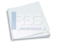 Plat de couverture qualité Chromomat blanc 250g