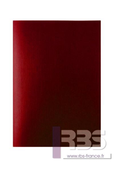 Couvertures Advocate sans fenêtre - Coloris : Rouge