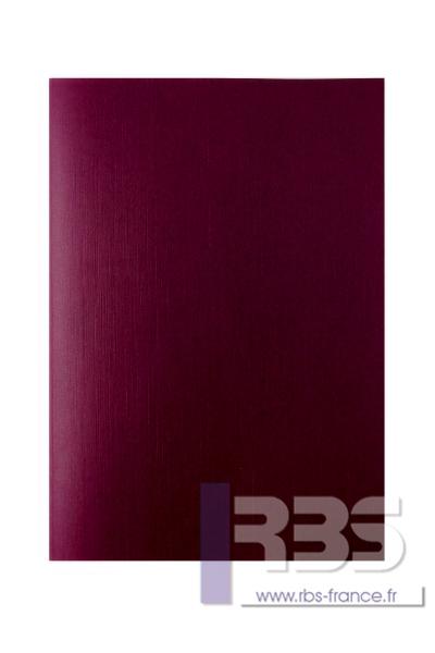 Couvertures Advocate sans fenêtre - Coloris : Bordeaux