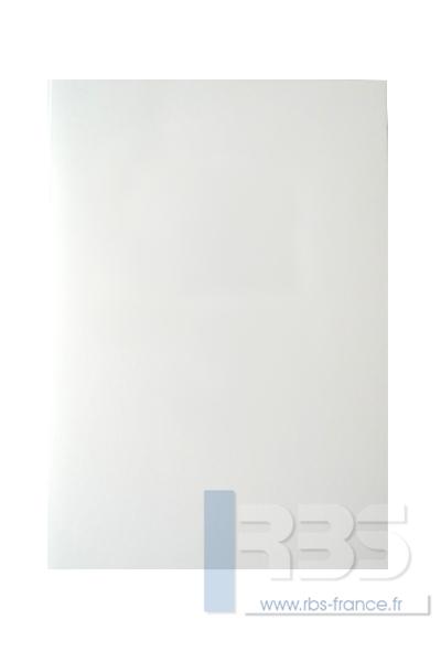 Couvertures Advocate sans fenêtre - Coloris : Blanc Texturé