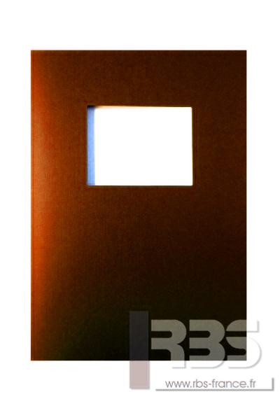 Couvertures Advocate avec fenêtre - Coloris : Orange