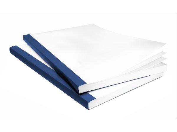Couvertures Bindomatic Aquarelle - Coloris : Bleu foncé