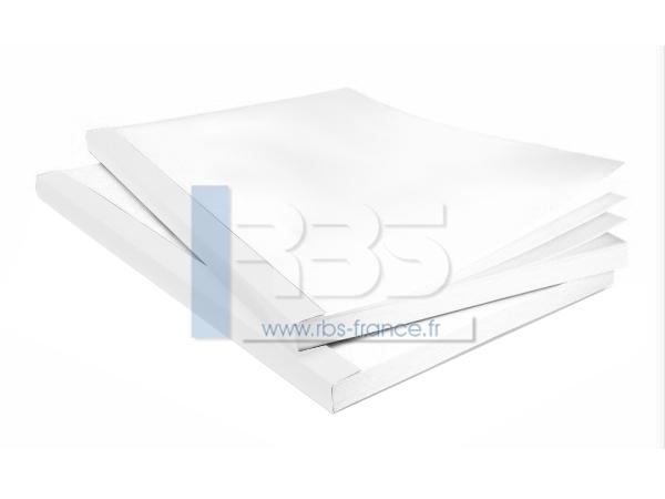 Couverture Bindomatic Aquarium - Coloris : Blanc