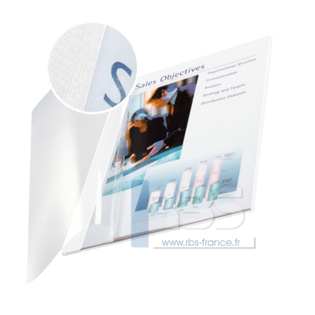 Couverture par serrage souple - Coloris : Blanc