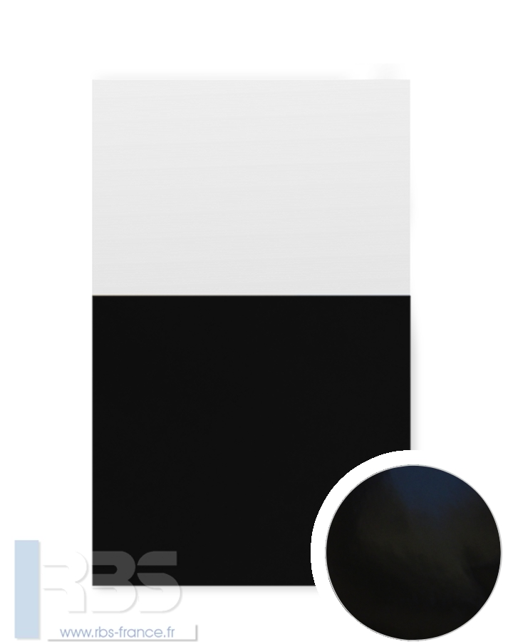 Couverture d'emboîtage Chromolux 250g - Coloris : Noir