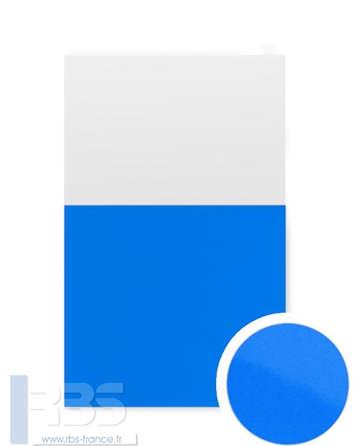 Couverture d'emboîtage Chromolux 250g - Coloris : Bleu