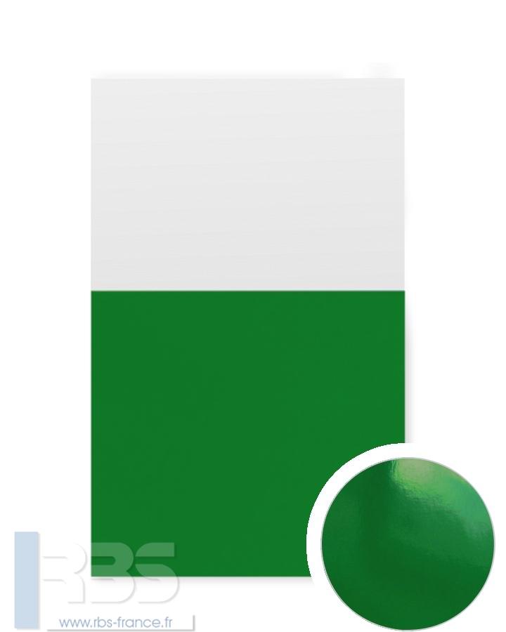 Couverture d'emboîtage Chromolux 250g - Coloris : Vert