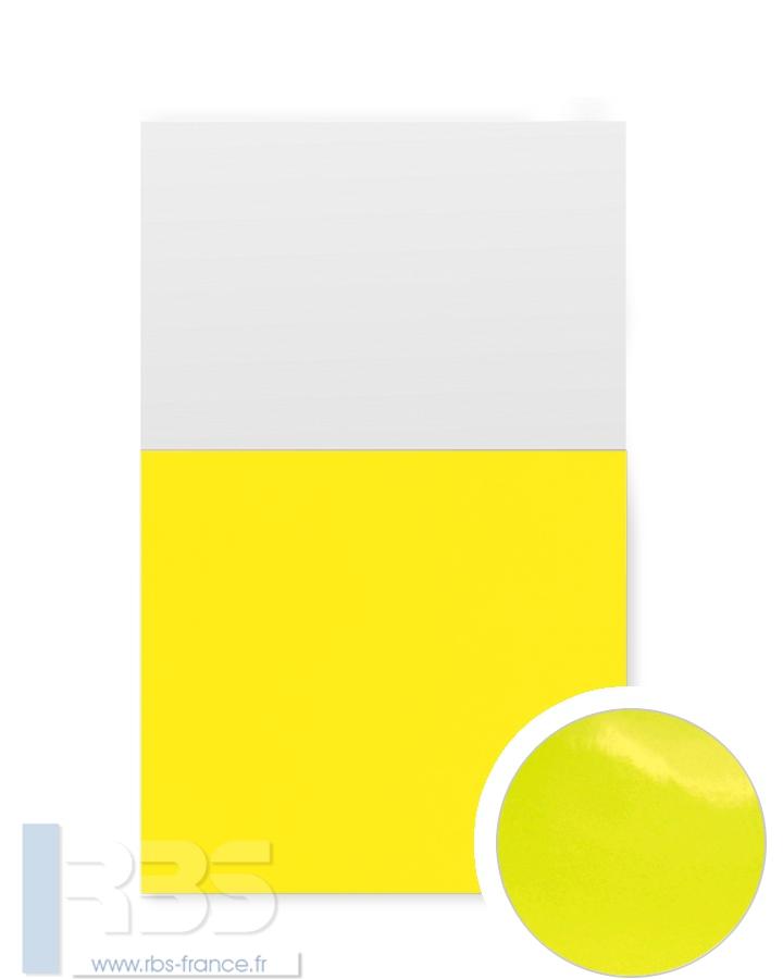 Couverture d'emboîtage Chromolux 250g - Coloris : Jaune