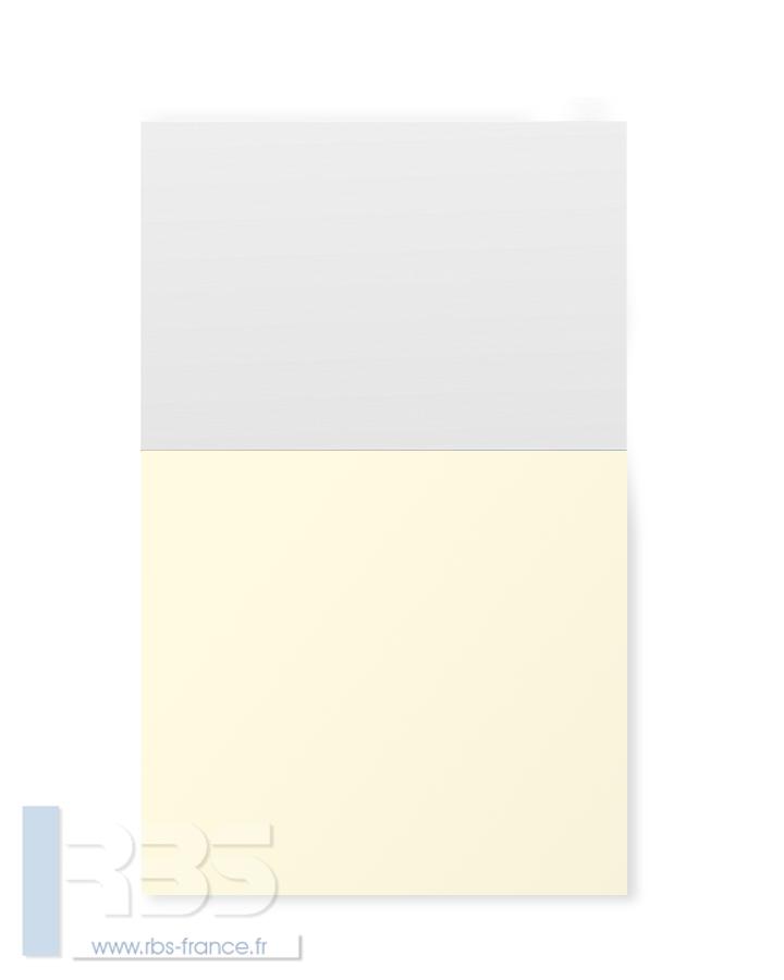 Couverture d'emboîtage Chromomat 250g - Coloris : Ivoire