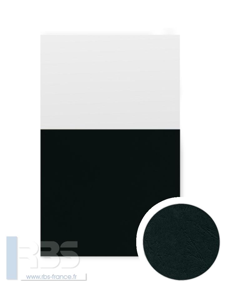 Couverture d'emboîtage Grain cuir 260g - Coloris : Noir