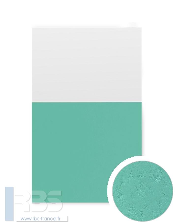 Couverture d'emboîtage Grain cuir 260g - Coloris : Vert d'eau
